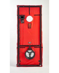 Mini Fan Blower Door System with DG-1000 Gauge